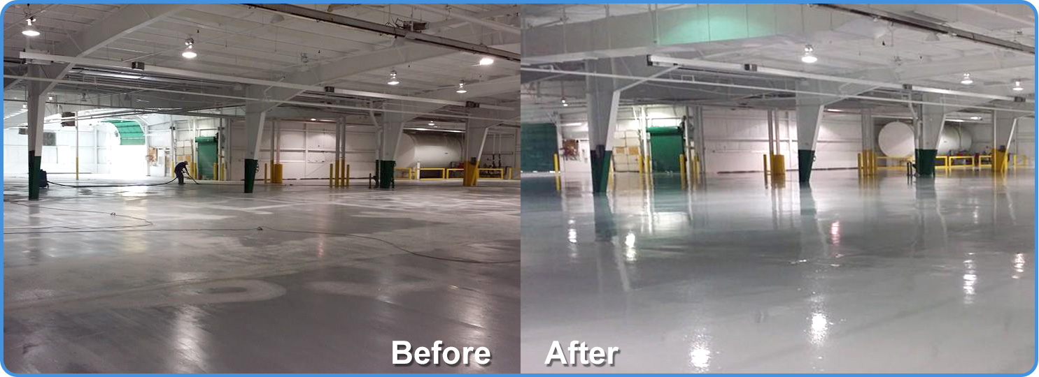 Michigan Industrial Floor Coatings